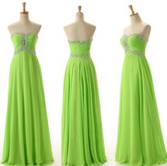 Top Selling Sleeveless Prom Dress 2016 Crystal Chiffon