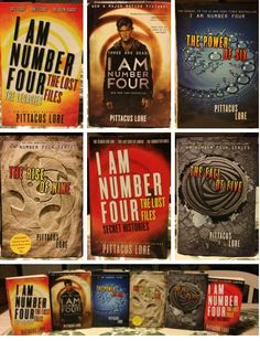 Pittacus Lore Lorien Legacies... AHHH THE FALL OF FIVE CAME OUT