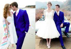 blue wedding suit - Google Search
