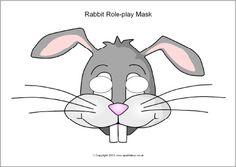 Rabbit role-play masks (SB9952) - SparkleBoxvvv