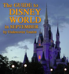 Disney World Planning for September