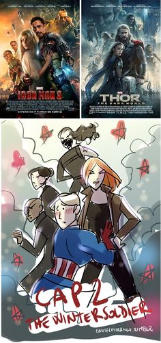 If Marvel's posters for Iron Man 3 and Thor 2 are the start of a trend, Captain America 2's poster should be epic.