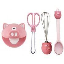 Kit Acessórios para cozinha Piggy Wiggy Joie