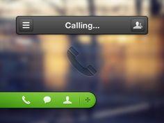 call bar