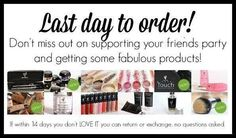 Don't let it be a Last day to order...host your own Younique Virtual Party...click here to get started.. https://www.youniqueproducts.com/loretavician