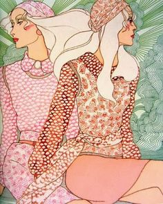 """Karl Largerfeld said about Antonio Lopez: """"In the world of illustration, his contribution is superior to the efforts of all other fashion artists of his era."""""""