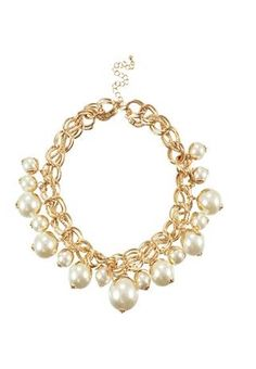 Collar Chain Pearl Necklace