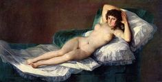 La Maja desnuda - Francisco de Goya