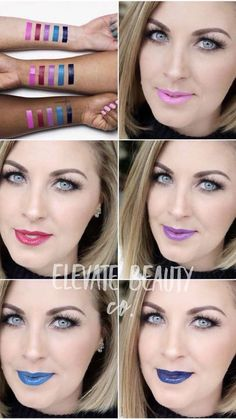 The new limited edition LipSense Prism of Colors Collection is now available. Mod Magenta, Pop Art Pink, Skyline, Lilac Laquer, and Midnight Muse have your pink, blue and purple lipsticks covered. Contact me for yours! Lips by Stephie 406510