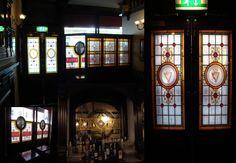 Irish Drinks, Pub Design, Window Screens, Vestibule, Brewery, Brick, Display, Mirror, Wallpaper