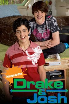 Over-the-top Nickelodeon sitcom created by Dan Schneider about two Odd Couple stepbrothers. Drake Parker (Drake Bell) is a popular, conceited, ladies man and dim musician who ends up getting a stepbrother in Josh Nichols (Josh Peck), a goofy, … Drake Bell, Miranda Cosgrove, Drake And Josh, Childhood Tv Shows, Childhood Movies, Oprah Winfrey, Josh Nichols, Old Tv Shows, Movies And Tv Shows