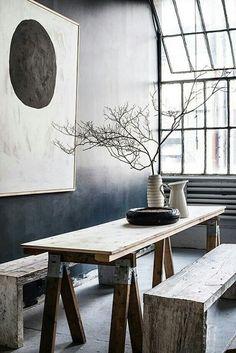 The Wabi-Sabi Home: Learn to Embrace Imperfection and Authenticity - The Wabi-S. The Wabi-Sabi Hom Japanese Home Decor, Japanese Interior Design, Japanese House, Home Interior Design, Interior Styling, Room Interior, Interior Modern, Living Room Japanese Style, Japanese Decoration