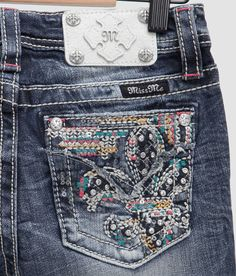 Girls - Miss Me Skinny Jean - Girl's Jeans   Buckle