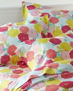 Zinnia Sateen Bedding 310 count sheets twin