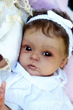 ♥ ♥ ♥ baby reborn doll Livia  By G Legler  biracial ethnic stunning ♥ ♥ ♥