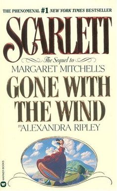 Scarlett - Alexandra Ripley was authorized by Margaret Mitchell's estate to write a sequel to GWTW.  Scarlett after losing Rhett & Bonnie sets off to the O'Hara homeland of Ireland and determines to reclaim her life.