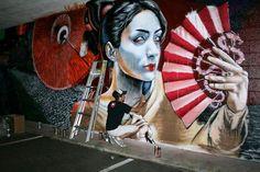By Gamma #streetart #urbanart #graffiti