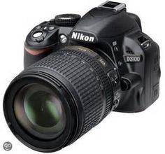 Met de Nikon d3100 spiegelreflexcamera kun je fotograferen met een prachtige beeldkwaliteit.