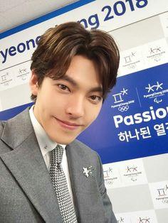 #KIMWOOBIN es nombrado Embajador Honorario para promover los juegos de invierno PyeongChang 2018. (Abril/13/17) Cr.owner Asian Actors, Korean Actresses, Korean Actors, Actors & Actresses, Lee Hyun Woo, Lee Jong Suk, Kim Woo Bin, Drama Korea, Korean Drama