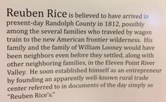 Information on The Rice Upshaw House