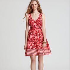 Nanette Lepore Cote D'Azur Cherry Dress