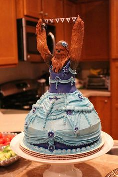 This Princess Chewbacca Cake Is Perfection