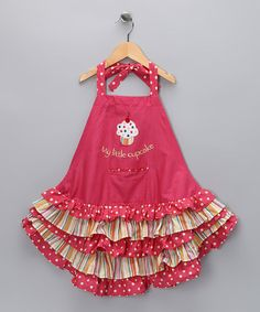 Take a look at this C & F 'My Little Cupcake' Apron - Kids by Bake Sale Collection on #zulily today!