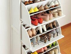Découvrir les meubles à chaussures en 50 photos!