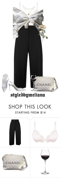 """date"" by bebebannann ❤ liked on Polyvore featuring Public School and Chanel"