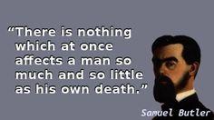 Samuel Butler - Death