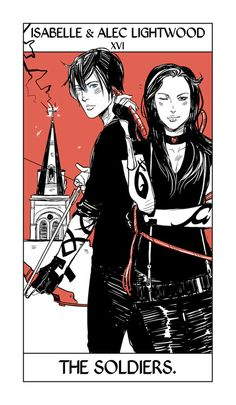 Isabelle & Alec Lightwood - The Soldiers.