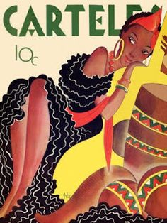 1950s Carteles Cuban magazine cover.