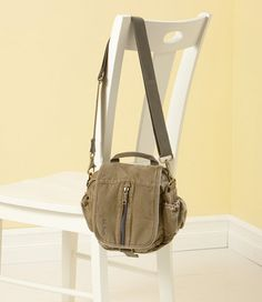 Sea-Washed Canvas Guide Bag: Shoulder Bags | Free Shipping at L.L.Bean