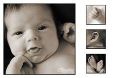 Newborn images for a baby announcement. #newborn #pictures #baby #announcement www.gribblephotography.com