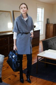 Fashion: trends, outfit ideas, what to wear, fashion news and runway looks Looks Street Style, Looks Style, Style Me, Grey Style, Mode Outfits, Casual Outfits, Classic Outfits, Casual Dresses, Summer Outfits