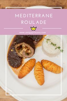 mediterrane rinderroulade, #beef #roulade #tomatoe #feta #basil #meat #dinner .amigaprincess.com