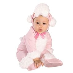 Hilarious poodle costume for babies!
