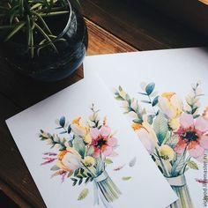 Картинки по запросу акварель открытки