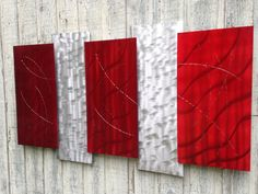 Metal wall art sculpture by Holly Lentz Abstract Contemporary