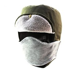 Home Prefer Winter Outdoor Waterproof Double Layer Face Cover Cap Warm Ear Flap Trapper Hat Army Green Home Prefer http://www.amazon.com/dp/B0169UGX9Q/ref=cm_sw_r_pi_dp_o8Mfwb138KJZB