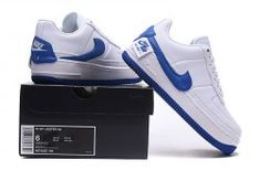 Nike Air Force 1 Jester WMNS White Blue AO1220 104 Womens Mens Casual Shoes  Sneakers Air 45568506a
