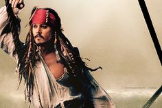 Johhny Depp as Jack Sparrow by Annie Leibovitz
