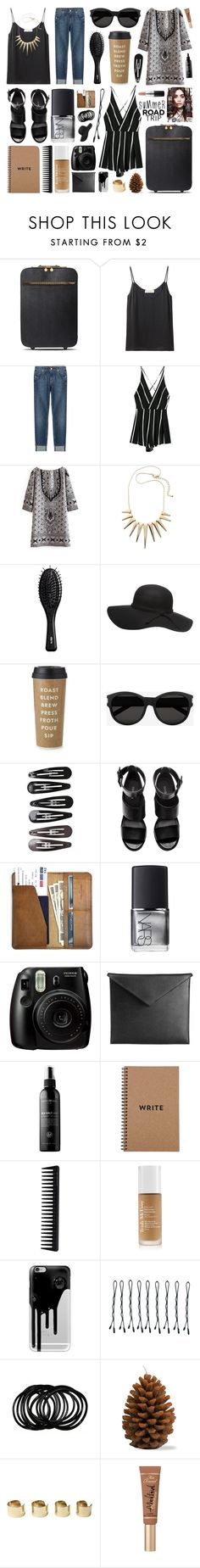 """""""I'm walking on sunshine"""" by the-key-to-my-heart ❤ liked on Polyvore featuring STELLA McCARTNEY, Delfina Delettrez, 7 For All Mankind, H&M, Dorothy Perkins, Kate Spade, Yves Saint Laurent, Clips, CO and NARS Cosmetics"""