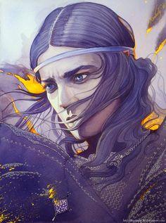 ☆ Gil - Galad :¦: Illustration Artist Kimberly80 ☆