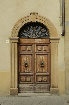 """""""Door Number 1"""" - Tuscany, Italy by: www.jimbenest.com"""