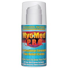 Best Pain Relief Cream  Anti Inflammatory Professional Strength  No Prescription Required Gives You Fast Treatment For ALL Muscle  Joint Pain Great For Pre  Post Workout By MyoMed PRO 35oz *** Visit the image link more details.
