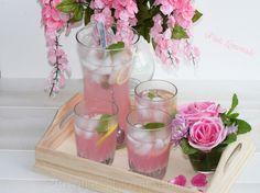 Pink Limonada - Pink Lemonade   Receitas e Sabores do Mundo