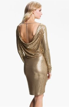 MICHAEL Michael Kors Cowl Back Sequin Dress...perfect for new years! 92f52110f