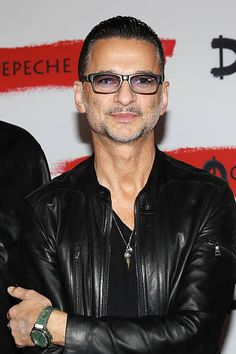 Dave Gahan of Depeche Mode attends a photocall to launch the Global Spirit Tour on October 11, 2016 in Milan, Italy.
