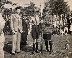 Lord BADEN POWELL — Godalming Museum